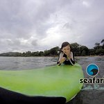 Junior surfing camp, private surf lessons for kids. Tamarindo Costa Rica