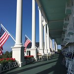 Ah picture on the World's Longest Porch.