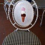 Adorable chair detail