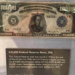 $10,000 Federal Reserve note