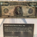 $5,000 Federal Reserve note
