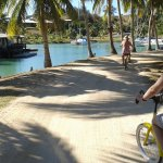 bikes-rent for free.trip around other areas outside resort(other resorts are there)