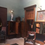 original furnishings and books and artifacts