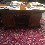 General Wallace's desk!