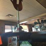 Inside Ricky's Restaurant