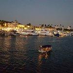 around the Newport Beach Coast cruising at night