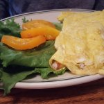 Dungeness Crab Omelette