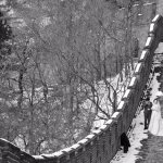 A wedding at the Great Wall
