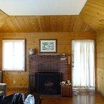 Fireplace and Door