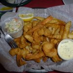 SHARKY'S SHRIMP BASKET AND FRIES