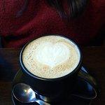 Delicioso café com leite!