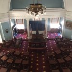 Senate room from the 3rd floor