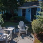 Float In cottage - private patio.