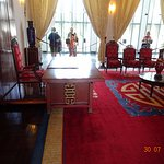 There are numerous government meeting rooms.