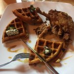 Duck & Cornmeal Waffles