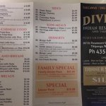 New menu, new prices and new specials