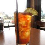 Ice Tea, Johnny's Harborside, Santa Cruz, Ca