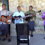Fijian Music in Nukunuku Restaurant
