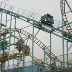 Roller Coaster, , Santa Cruz Beach Boardwalk, Santa Cruz, Ca