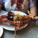 Baked Stuffed Lobster