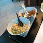 riz nouilles