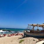 Molos bar at the beach (5 minute walk)