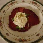 Una magistrale,nella sua semplicità,preparazione dello Chef Rocco Giubileo.Un grande davvero!!Gr