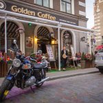 Golden Coffee Outside View