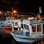fishing boats in close-up