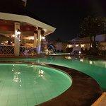 Pool Area (night time)