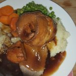 Best Sunday lunch  This is a small roast beef dinner £5.95 Best ever