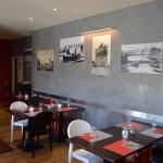 Restaurant typique Italien, un style totalement relooké dans un espace généreux et lumineux.