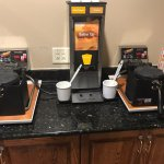 Waffle makers not plugged in - no waffle juice
