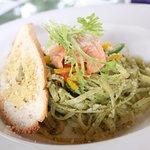 salmon pesto pasta