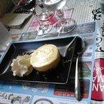 le cheese cake aux zestes d'orange
