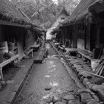 inside the village compounds