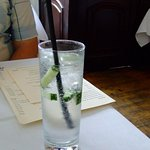 Gin and tonic. A good wine and spirit list here, also beers and coffees