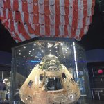 Return capsule with parachute