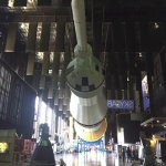 Walk under and actual rocket!