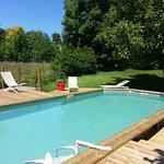piscine chauffée en saison