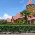 Aquiares coffee hacienda church, 15 drive from Guayabo Lodge