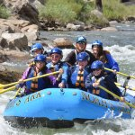 Rafting on the Arkansas River in August with Noah's Ark