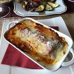 Lasagne- godna polecenia. Zupa Minestrone- duża, smaczna porcja.