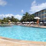 Piscina do Resort - Ala Água. Aqui a diferença fica bem óbvia.