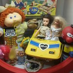 Toys from the 70s and 80s