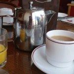 Large pot of tea