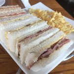 Sandwiches as part of afternoon tea