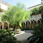 Garden of a monastery