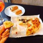 超級好吃的披薩和點心!!