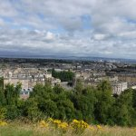 View to Firth of Forth from Calton Hill